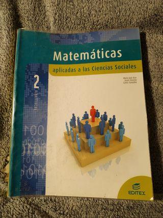 Matemáticas Aplicadas a las Ciencias Sociales 2°