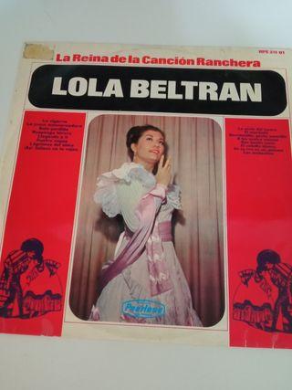 LP vinilo Lola Beltrán
