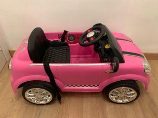 Coche eléctrico infantil Mini rosa