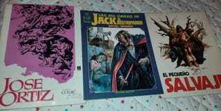Jose Ortiz lote 3 comics