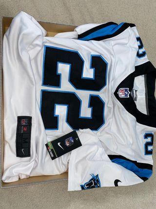 Camiseta de la NFL Carolina Panthers 22 MCcaffrey