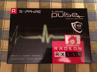 RX550 4GB