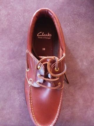Xapatos estilo náuticos marca Clarks