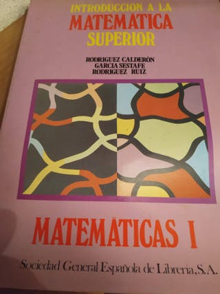 Introducción a la matemática superior