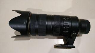 Objetivo Nikon 70-200 2.8 VRII