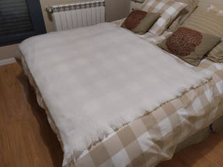 Manta artesanal Ezcaray de lana