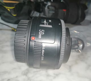 objetivo compatibles con cámaras Canon