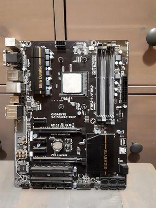 placa base + procesador amd A10 7870k