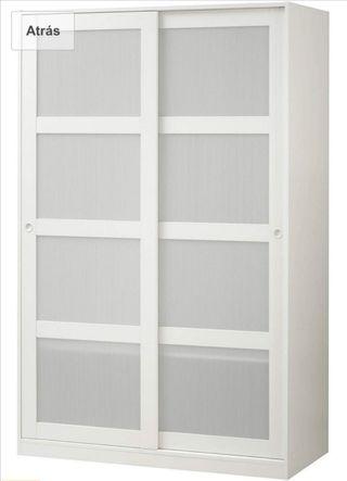 Armario Ikea con dos puertas correderas