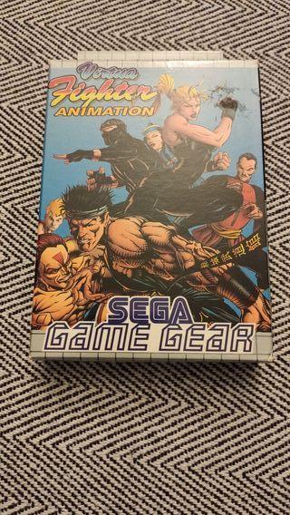 Virtua Fighter Animation Sega Game Gear