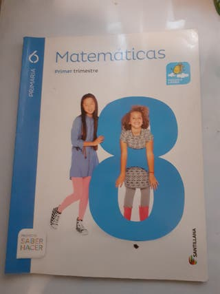 Libros Matematicas 6 Primaria Santillana