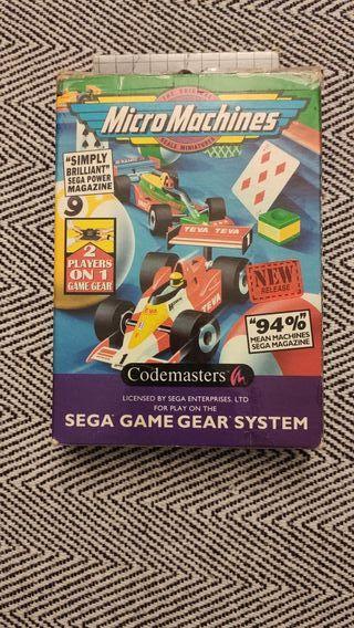 Micro Machines Sega Game Gear