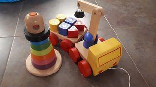 Juguetes de Ikea de madera