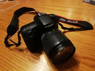 Camara Canon 70D + Objetivo EFS 15-85
