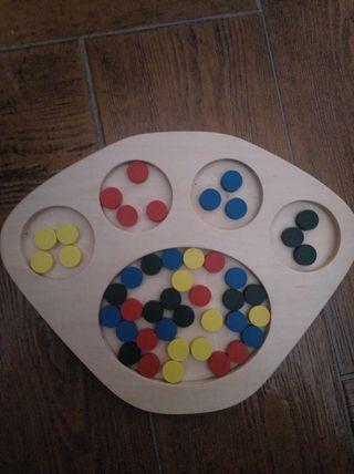 Juguete Montessori clasificar colores