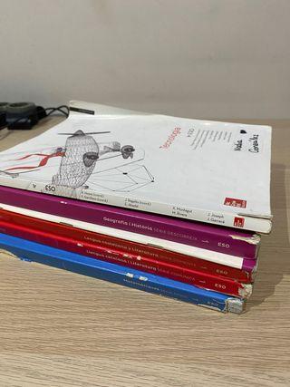 Libros de 1º ESO Santillana