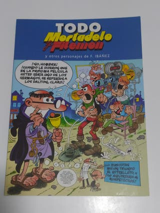 Lote cómics Todo Mortadelo y Filemón