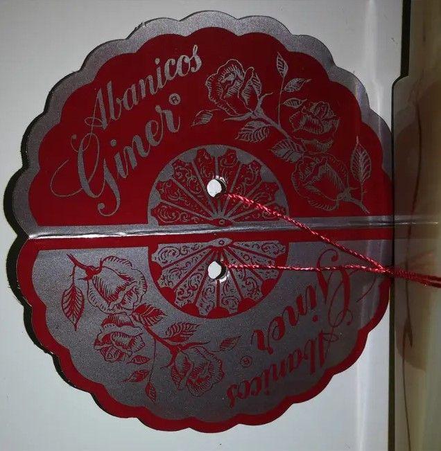 Abanico artesanal #17