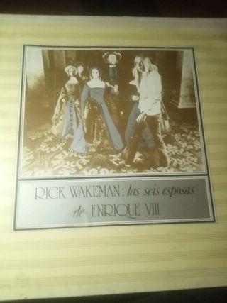 vinilo lp Rick Wakeman