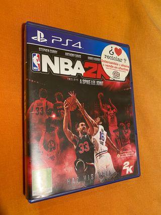 NBA 2k16 Play Station 4