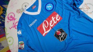 camiseta version jugador xxl Napoli hamsik