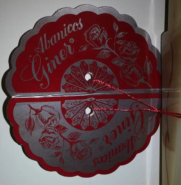 Abanico artesanal #13