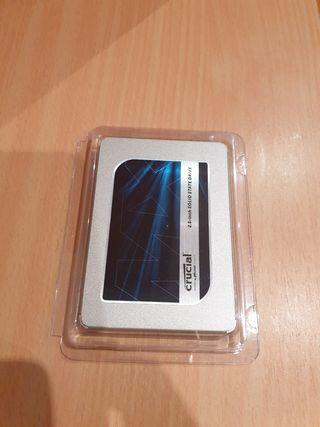 Disco duro SSD Crucial MX500. 1 TB
