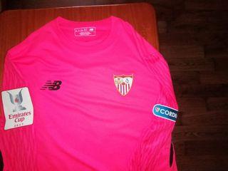 Sevilla fc camiseta portero Juan soria