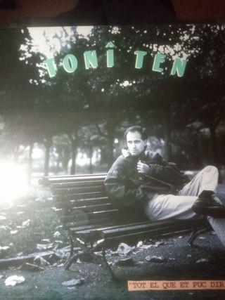 vinilo LP Toni Ten
