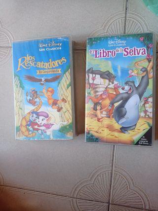 películas de VHS para niños