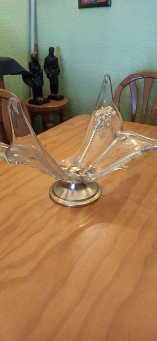 Centro de mesa de cristal