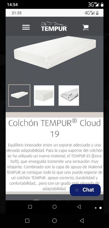 SOMIER ARTICULADO ESCANDINAVIA + COLCHÓN TEMPUR