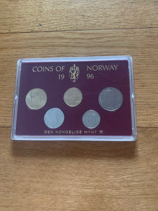Coins of Norway 1996