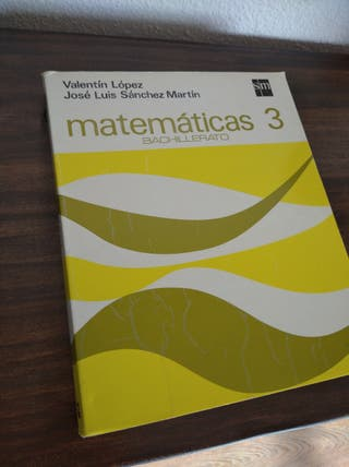 Matemáticas Bachillerato