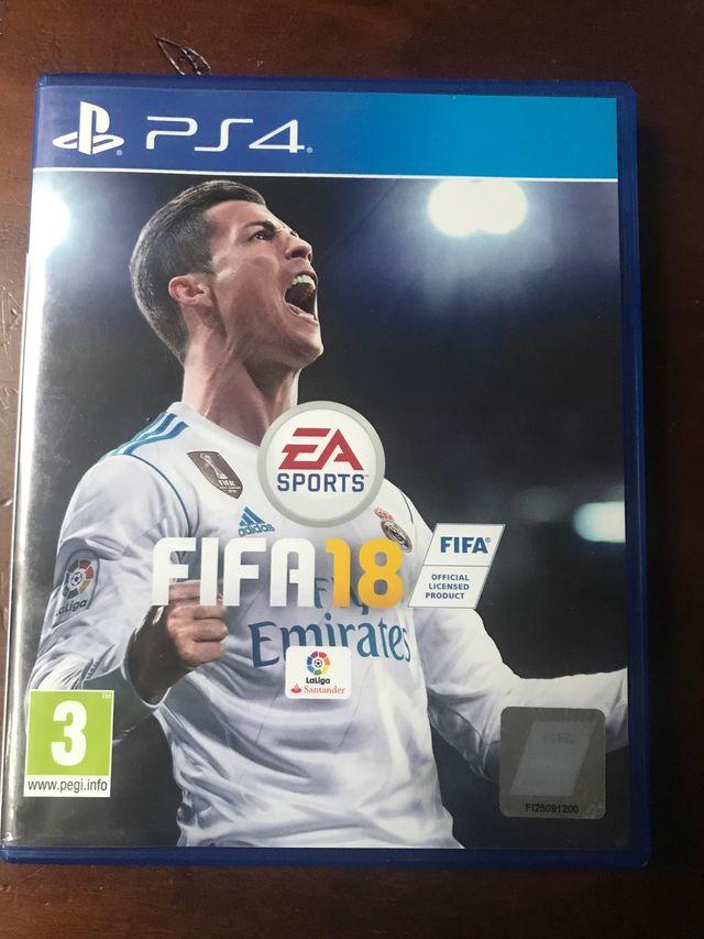 bofetada retorta distrito  FIFA 18 de segunda mano por 10 € en Alhaurín de la Torre en WALLAPOP