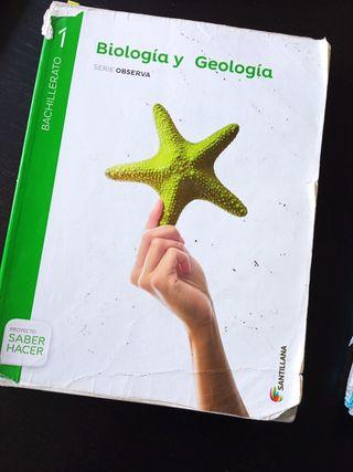 Biología y Geología 1Bachillerato