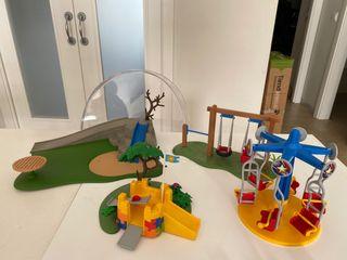 Parque atracciones playmobil