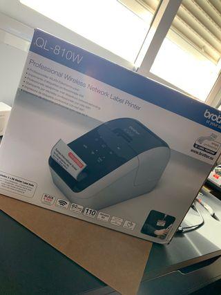 Impresora etiquetas brother ql-810W