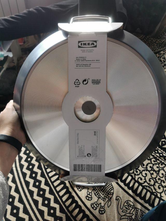 Paellera vitrocerámica de 38 cm Ikea