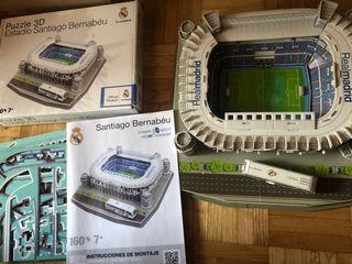Maqueta Estadio Santiago Bernabéu Puzzle 3D