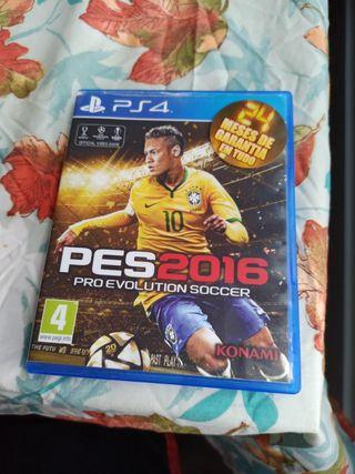 Pro Evolution Soccer 2016 PS4 PlayStation 4