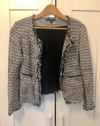 Chaqueta knitwear de Zara