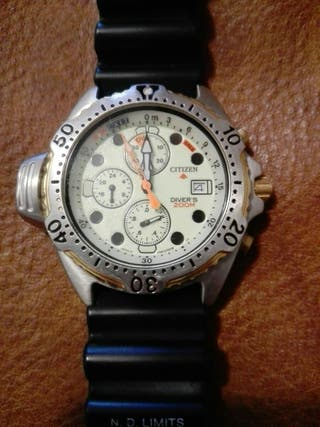 Reloj Citizen Promaster Diver`s 200M