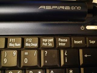 Mini portátil Acer