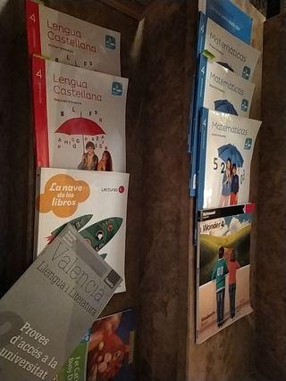 libros cuarto primaria mate