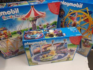 parque atracciones playmobil completo sin abrir