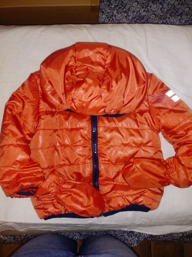 chaqueta polar bebé 9-12 m