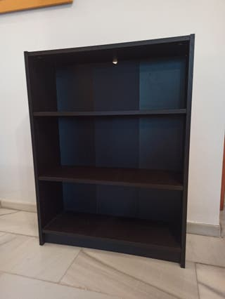 Estantería negra (80x106x28)