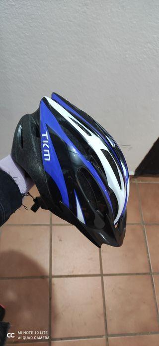 Casco para bicicleta talla M.