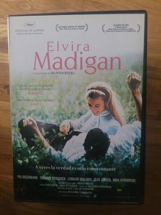 Elvira Madigan. película dvd